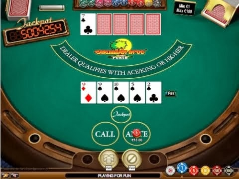 practice 4 card poker table-games-online
