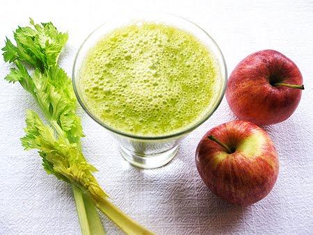Детокс сок от целина, цвекло и ябълки