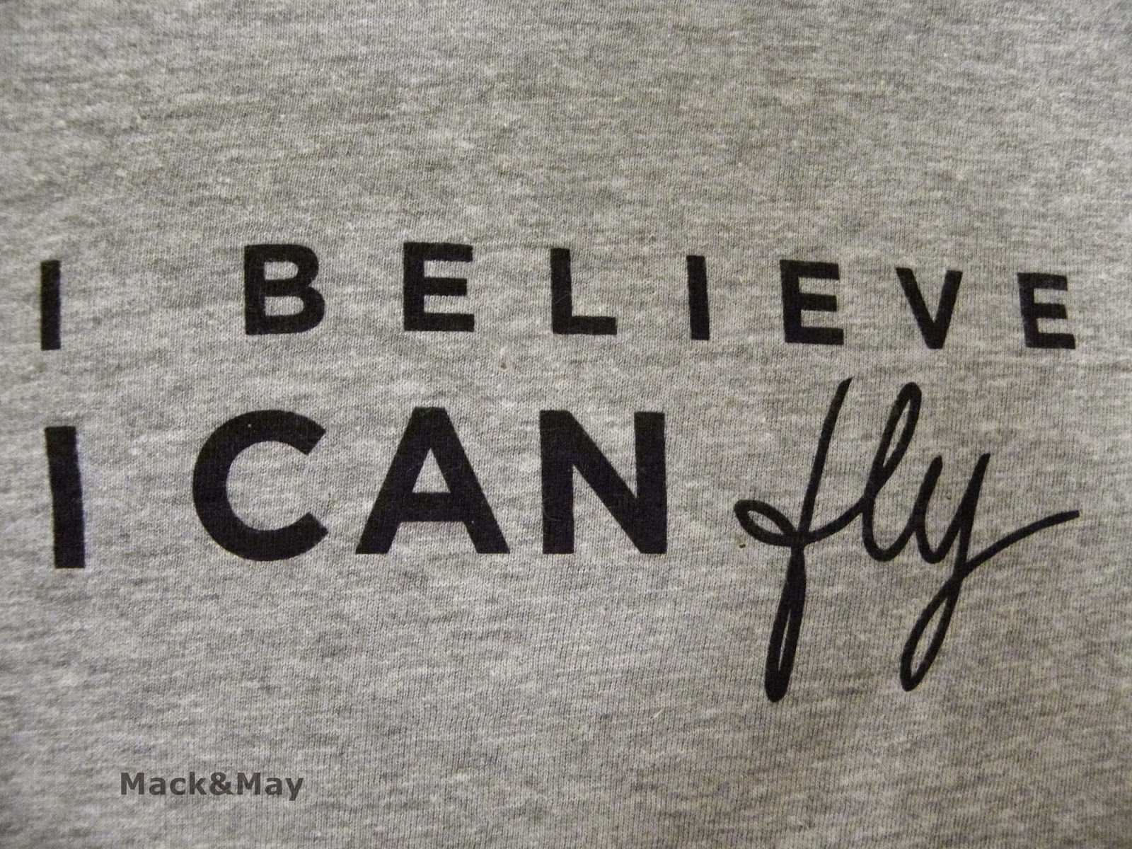 photo of I believe I can fly caption