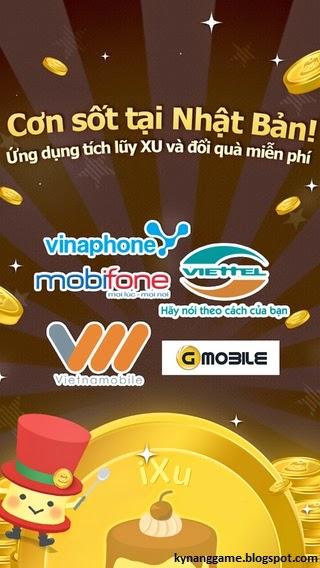 ixu ứng dụng tải app đổi thẻ cào