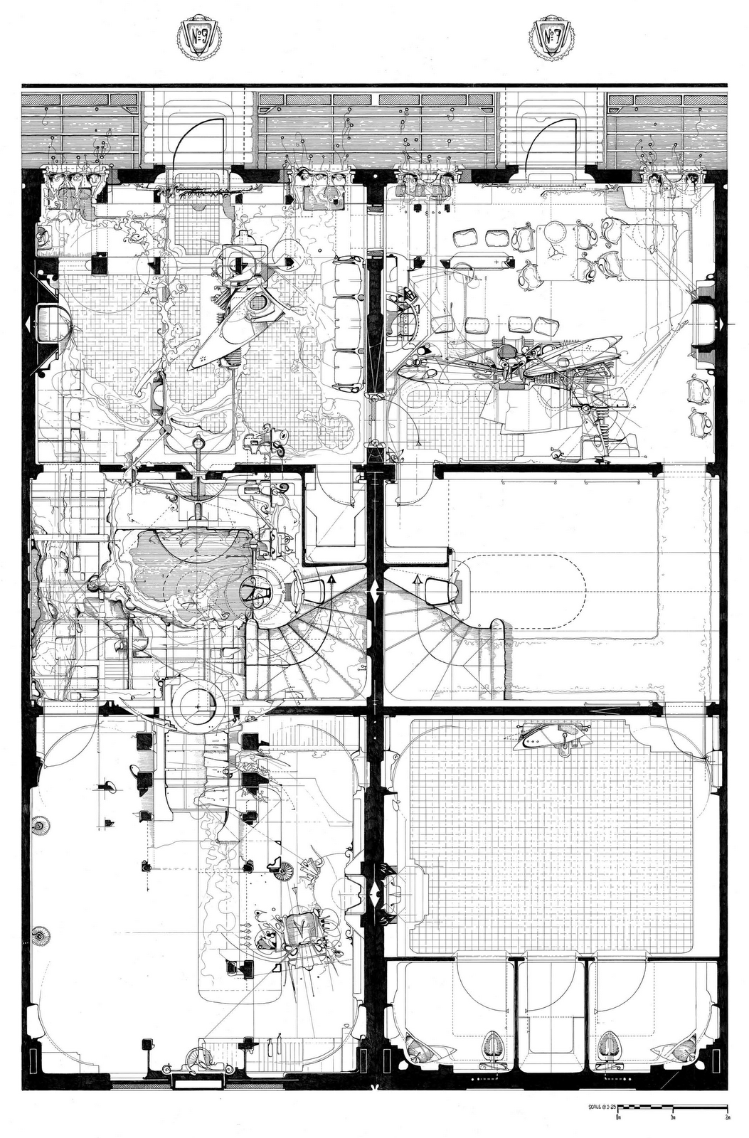 Artitecture dan slavinsky architect for Architecture design blueprint