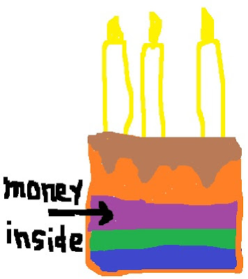 Picture of Money Cake