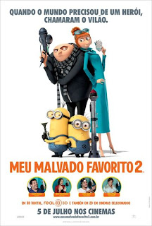 "Poster do filme ""Meu Malvado Favorito 2"""