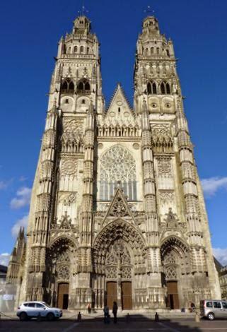 Catedral de St-Gatien, Tours.
