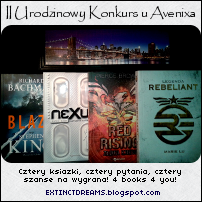 http://extinctdreams.blogspot.com/2014/05/konkurs-urodzinowy-u-avenixa.html