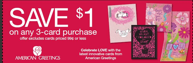 The target saver save 100 off 3 american greeting cards print and use this coupon for 100 off 3 american greeting cards target will usually have a coupon to stack with this one for a better deal m4hsunfo