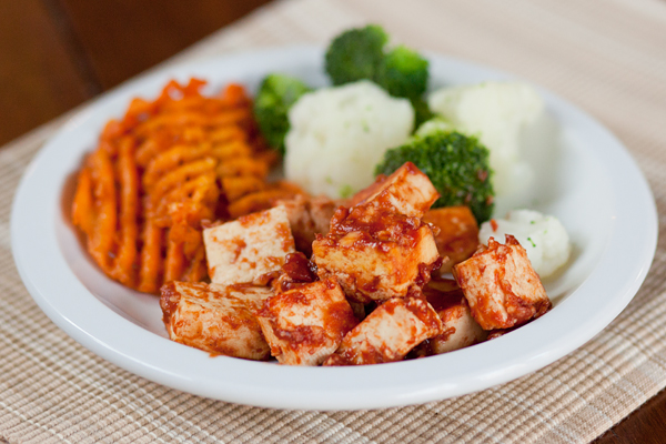 The Half-Baked Housewife: RECIPE: Baked Barbecue Tofu
