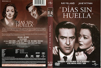 Carátula dvd: Días sin huella (1945) (The Lost Weekend)
