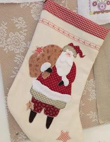 de traditionele kerst-laars gegeven door Yvonne