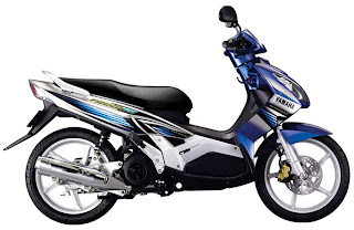 Yamaha motorcycle is very sweet