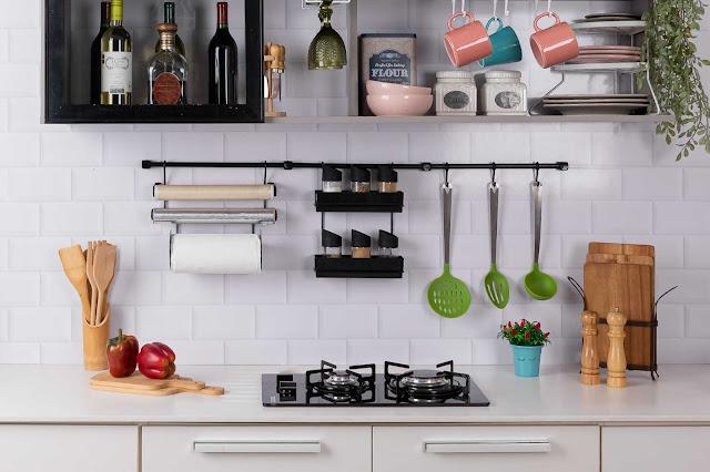 Cook Premium Kit 9 aramado para parede de cozinha