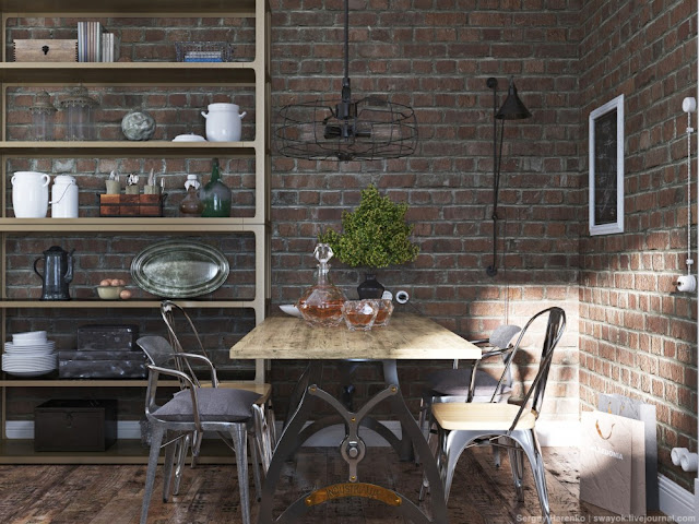 Projects una cocina industrial campestre virlova style for Mision de un comedor industrial