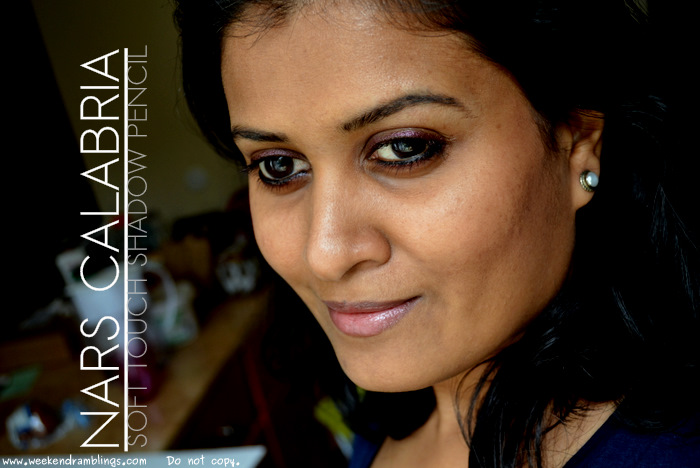 NARS Calabria Soft Touch Eye Shadow Pencil Summer Makeup 2012 Beauty Blog Reviews Swatches Ingredients Looks FOTD