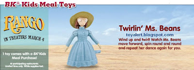 Burger King Rango Toys 2011 - Twirlin' Ms Beans