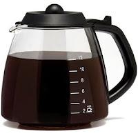 Die koffiepot krijg je meteen weer proper met bicarbonaat