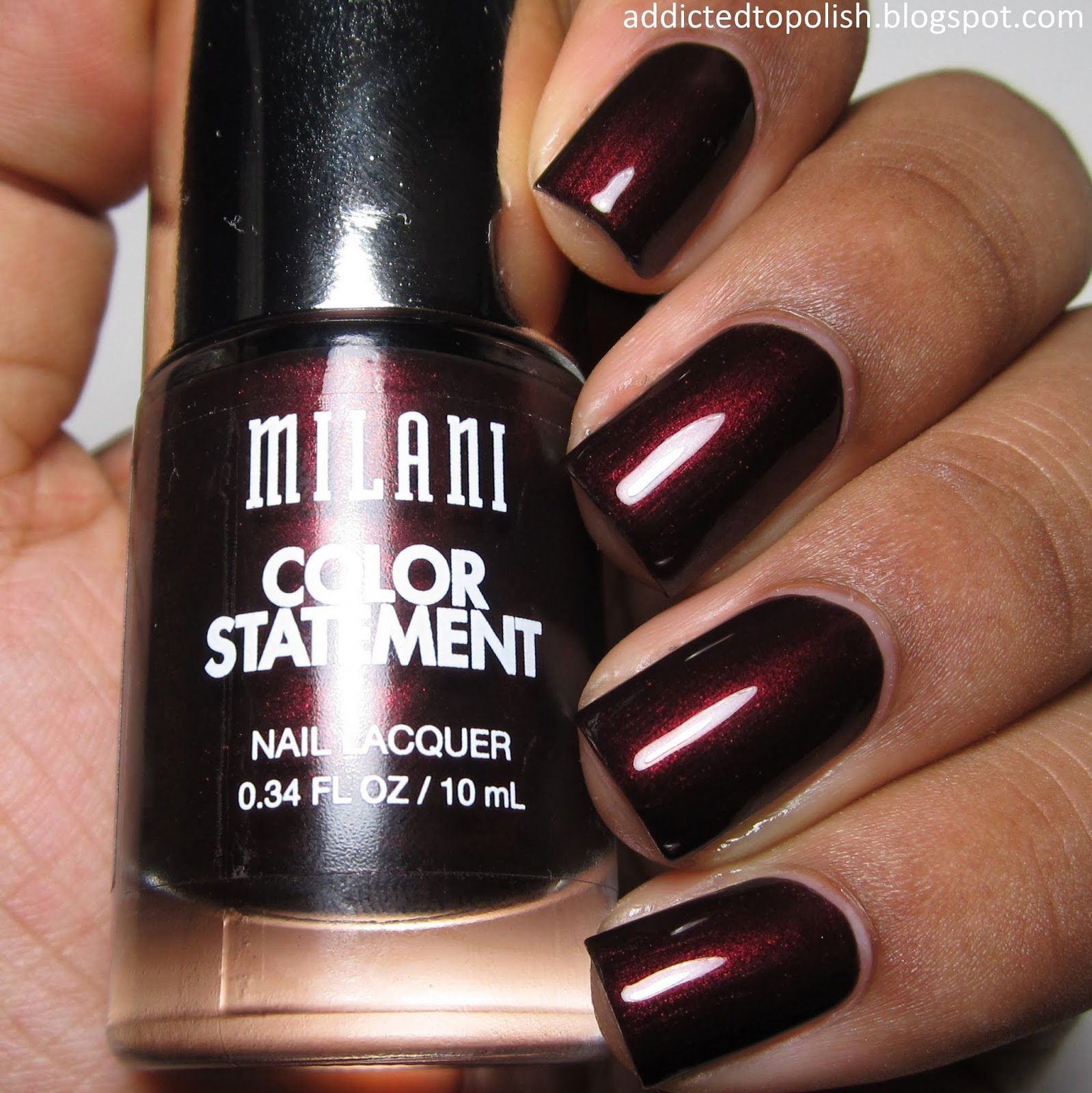 Milani Enchanted Garnet Bedazzled Fall 2014
