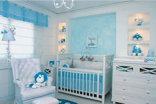 Baby bedroom furniture boy - Cuartos de bebes decorados ...