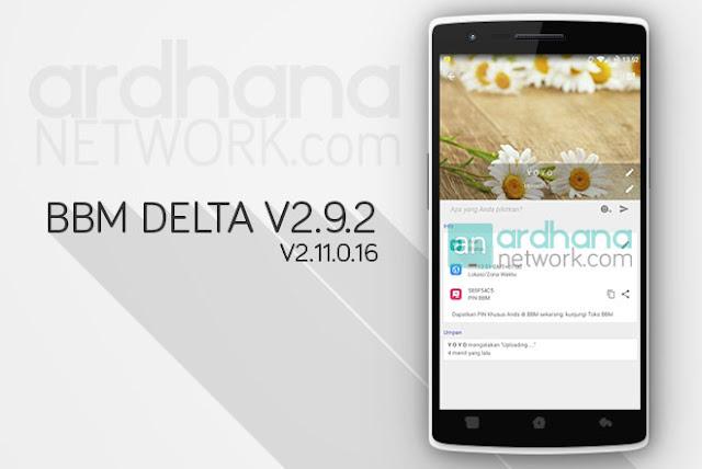 BBM Delta V2.9.2 - BBM Android V2.11.0.16