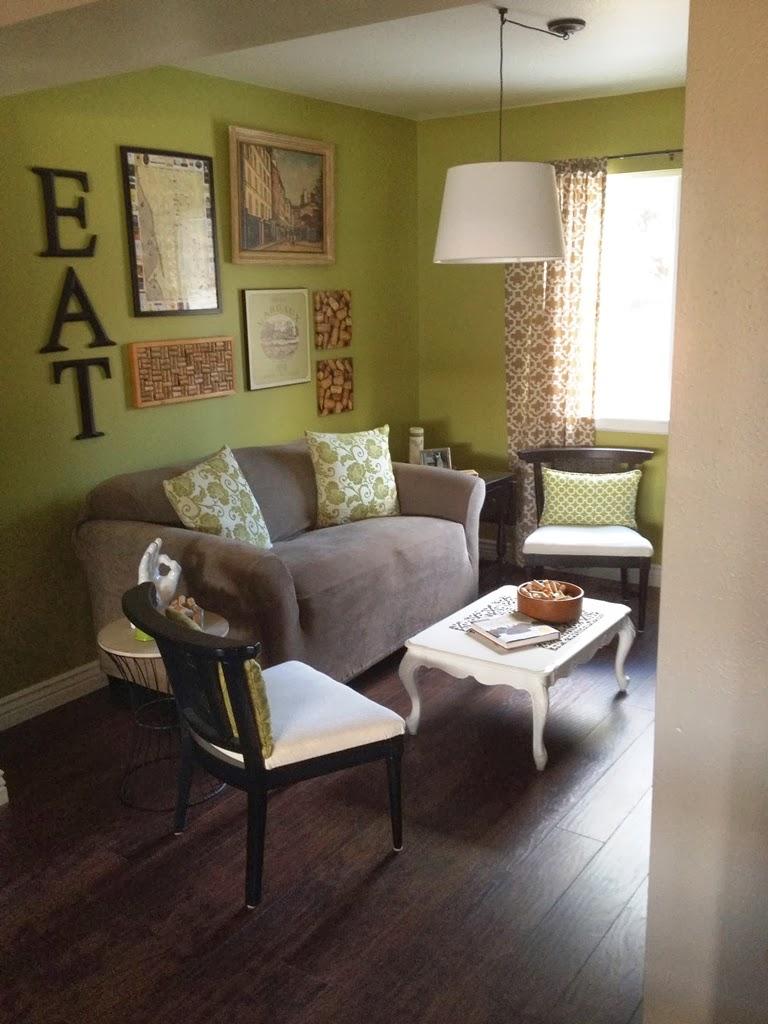kindred style dining room conversion part one. Black Bedroom Furniture Sets. Home Design Ideas