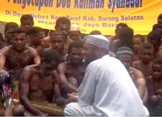Dai Fadlan Garamatan di Papua (foto ROL)