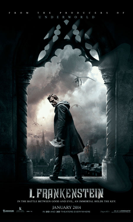Movie Poster Critic: 'I, Frankenstein' Character Posters ...