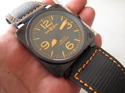 SOLD BELL AND ROSS - BR01 92 ORANGE LIMITED EDITION