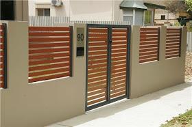 pagar rumah minimalis terbaru