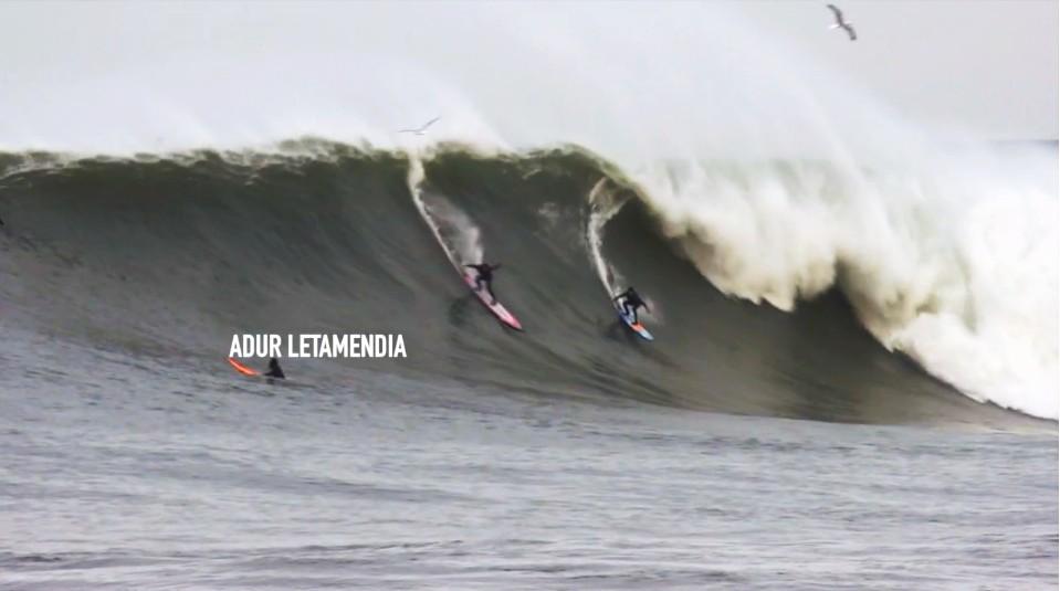 olas grandes, Zumaia, Roka Puta,