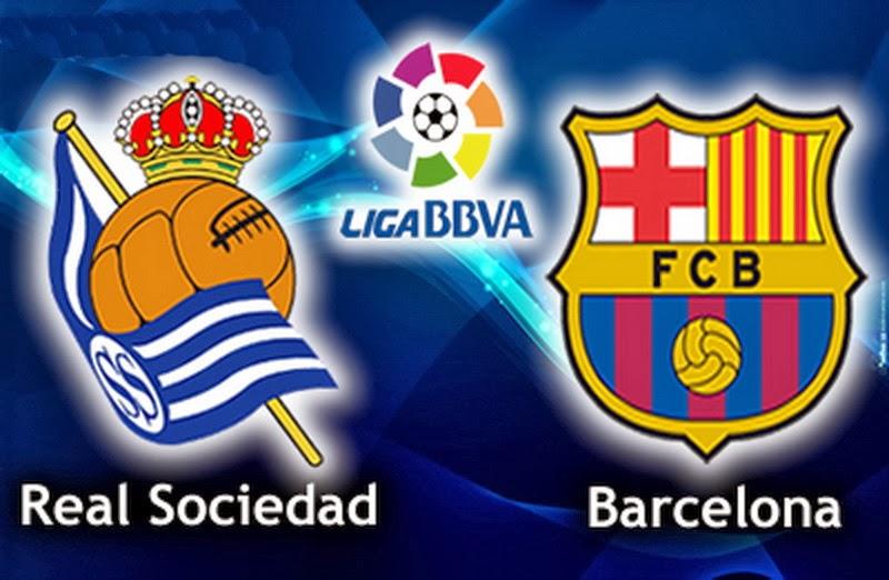 مشاهدة فيديو ملخص و أهداف مباراة برشلونة وريال سوسيداد في الدوري الاسباني اليوم السبت 22-2-2014