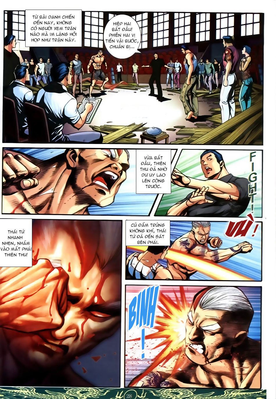 Người Trong Giang Hồ Chap 628 - Truyen.Chap.VN