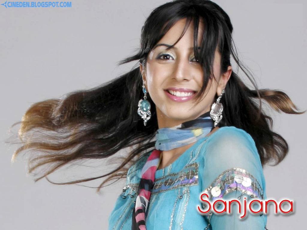 Sanjjanaa's getting ready for TV
