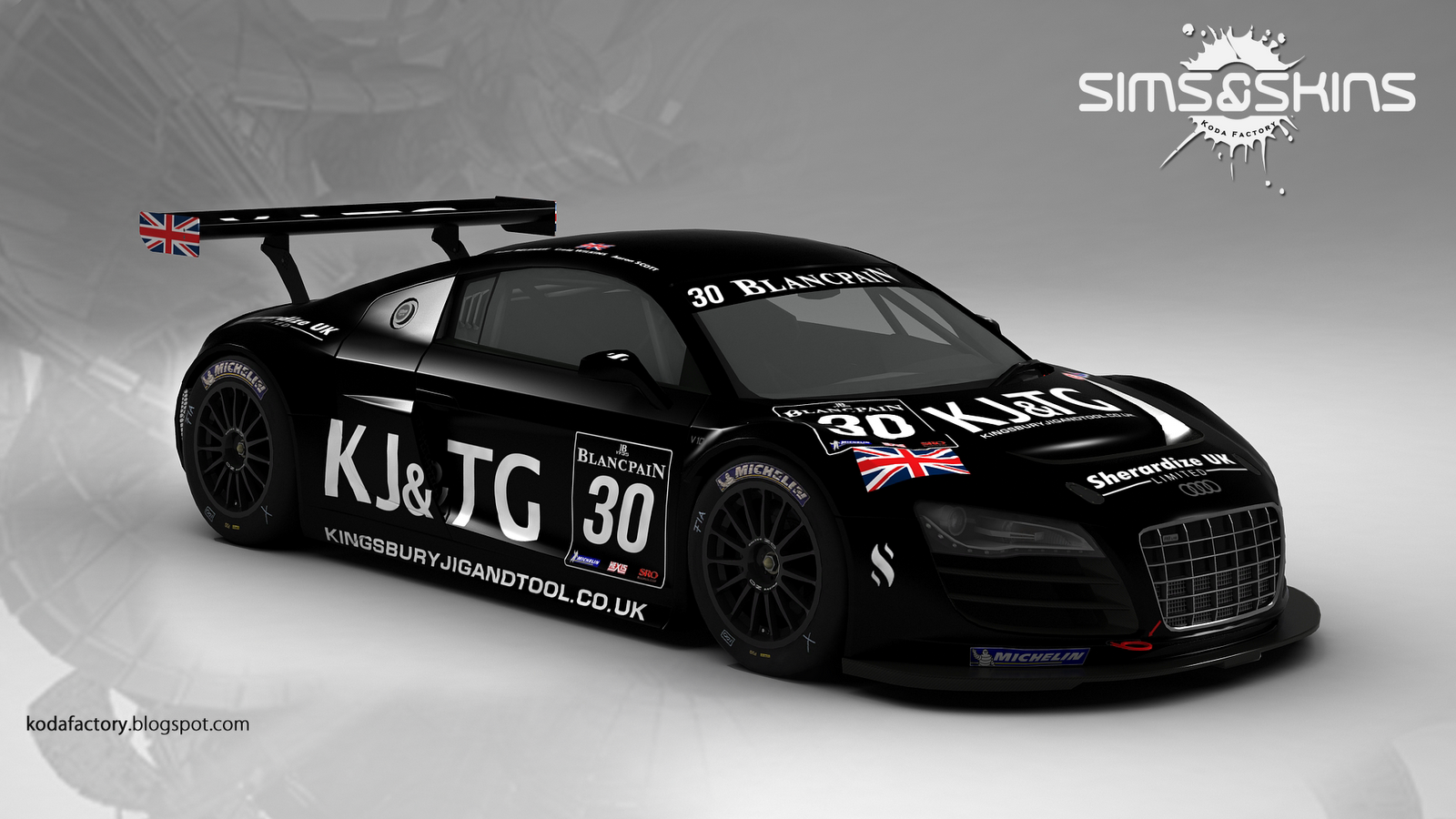 Koda Factory: #30 GT3 Racing - Audi R8 LMS