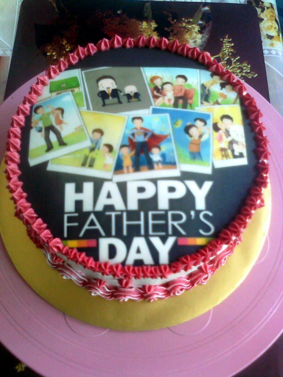 Cake Images With Name Hari : MIDNITE BAKER BANGI: KEK HARI BAPA