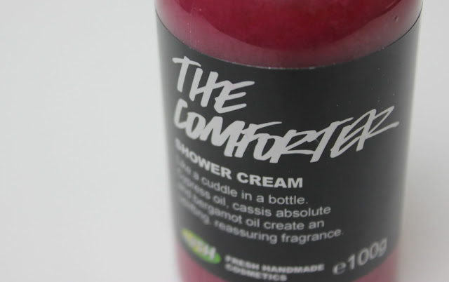 A picture of Lush The Comforter Shower Cream