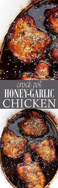 http://diethood.com/crock-pot-honey-garlic-chicken/