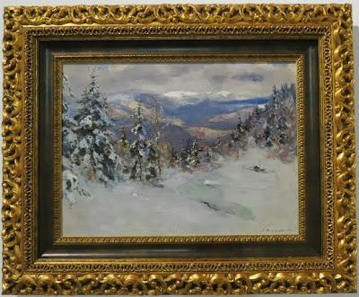 Сергей Шишко, Зима в Карпатах, 1956