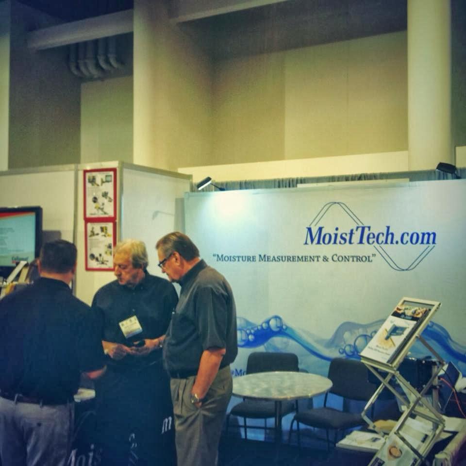 MoistTech at show