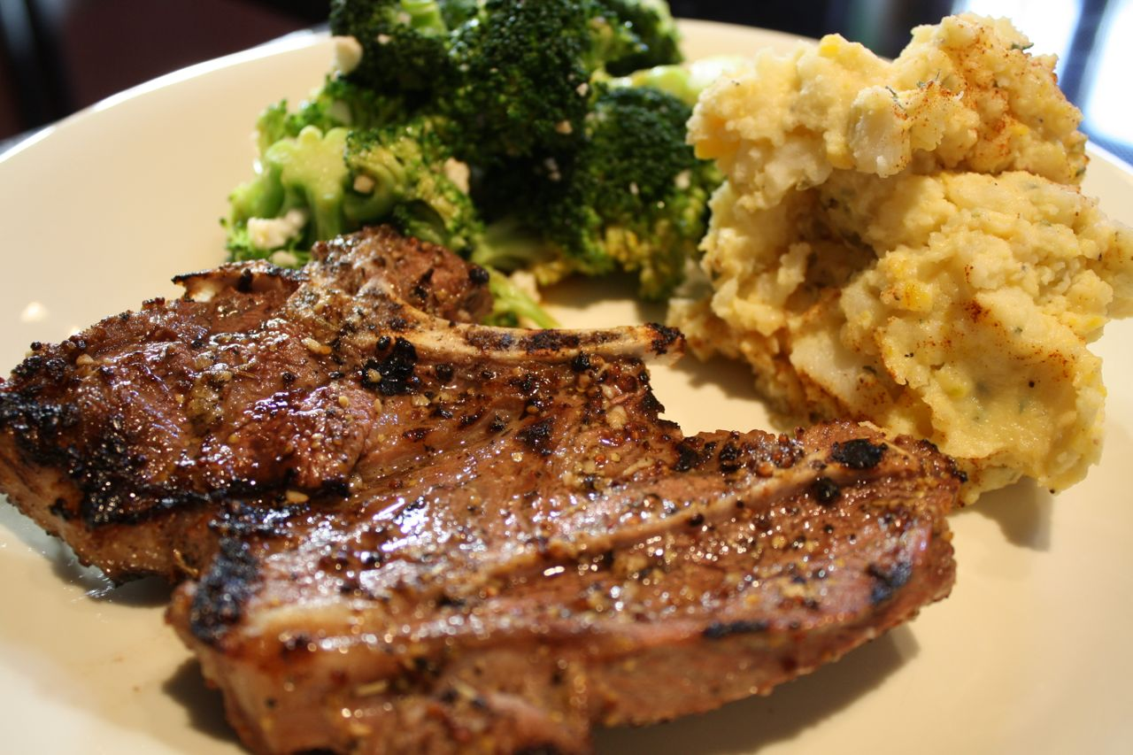 Grilled Lamb Shoulder Chops With Herb Aioli Recipes — Dishmaps