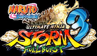 naruto shippuden ultimate ninja storm 3 full burst logo Naruto Shippuden: Ultimate Ninja Storm 3   Full Burst (360/PC/PS3)   Logo, PS3 Box Art, Screenshots, Trailer, & Press Release