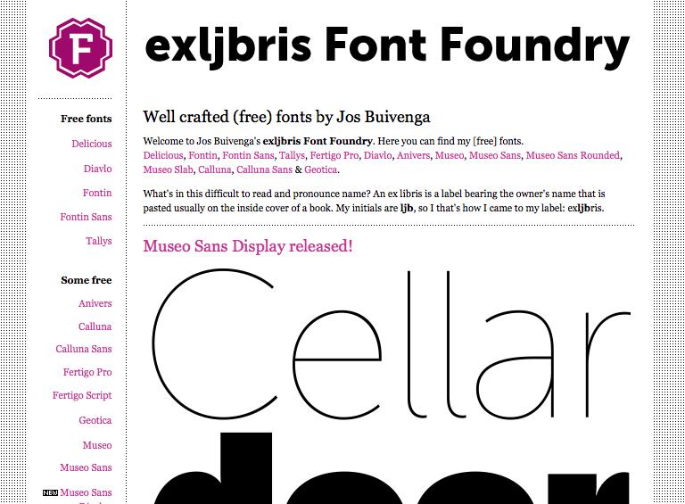 exljbris :: Free Quality Font Foundry