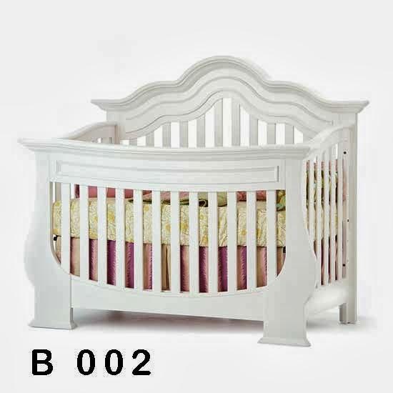 gambar ranjang dan box tempat tidur bayi minimalis