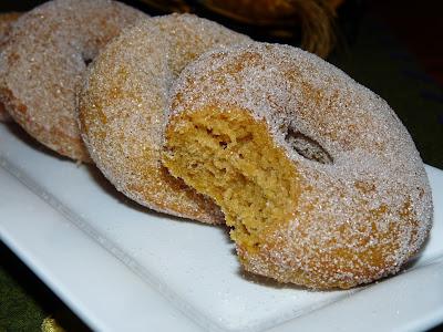 baked pumpkin doughnut