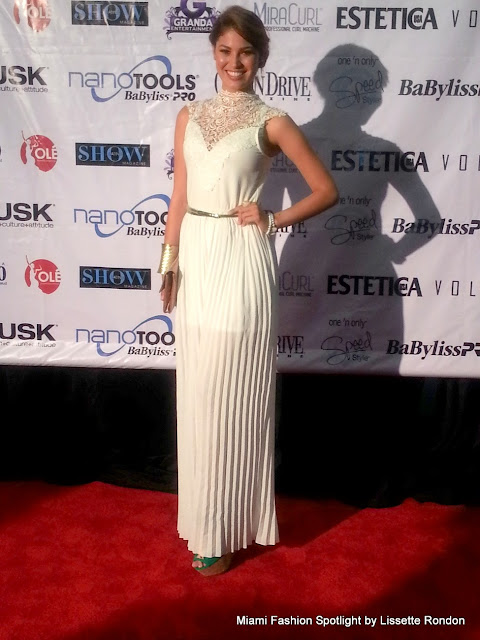 Alfombra Roja del evento de belleza: Miami Beach Convention & Beauty Show