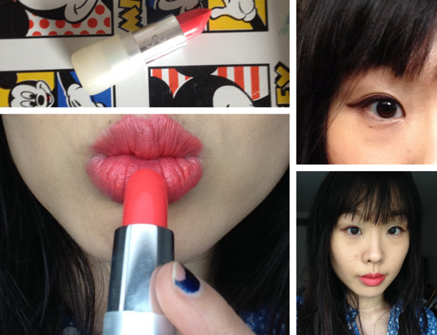uslu airlines lipstick hoh swatch look
