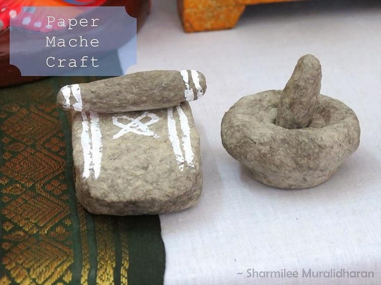 DIY Craft Paper Mache Miniatures