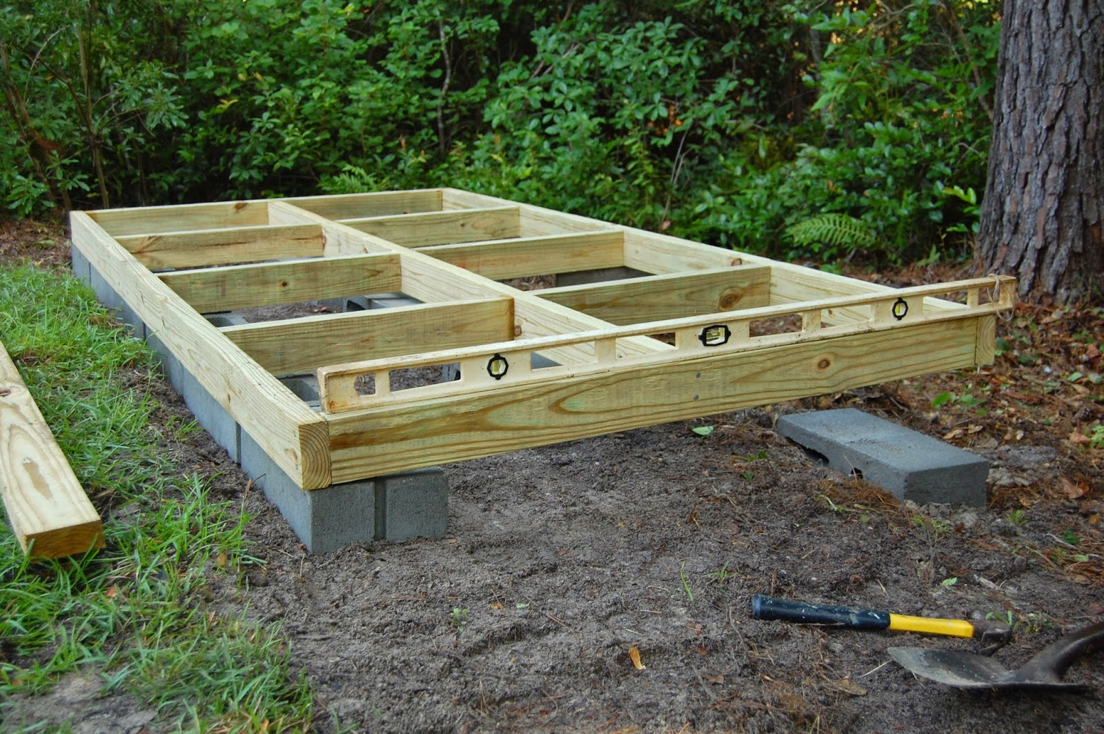 Antebellum 1862 how to build an outdoor deck for How to build a low deck