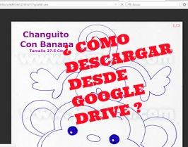 Mini Tutorial: ¿Cómo Descargar desde Google Drive?