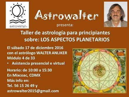 TALLER DE ASTROLOGIA PARA PRINCIPIANTES