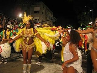 Cuerpo de baile, carnaval Uruguay