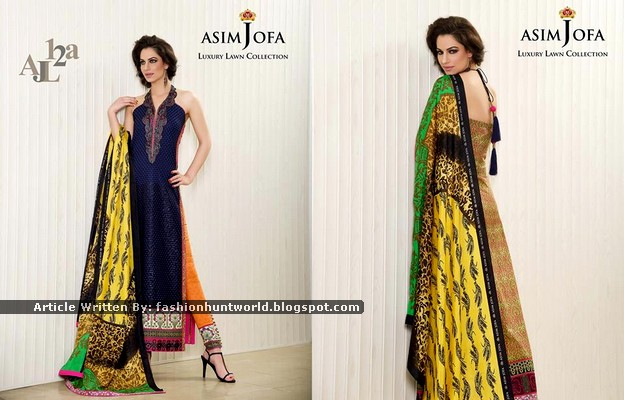 Asim Jofa Luxury Lawn Collection 2015